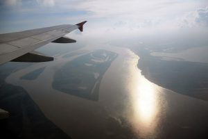 MAO – Amazon river from plane